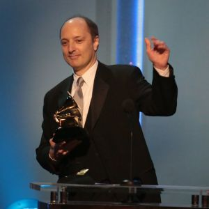 David Frost accepting the award for Producer of the Year, Classical. Tags: GRAMMY, Winter Morning Walks